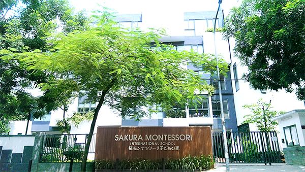Hình ảnh trường mầm non song ngữ Sakura Montessori ở Cầu Giấy Hà Nội