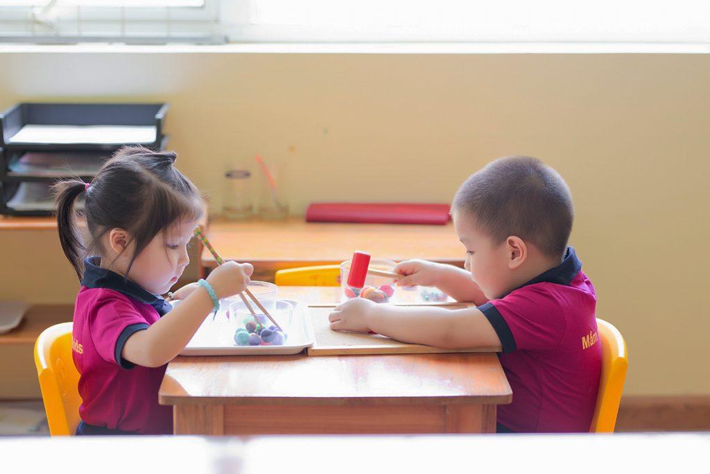 Học sinh IKIDS Montessori được rèn luyện kỹ năng teamwork như thế nào?