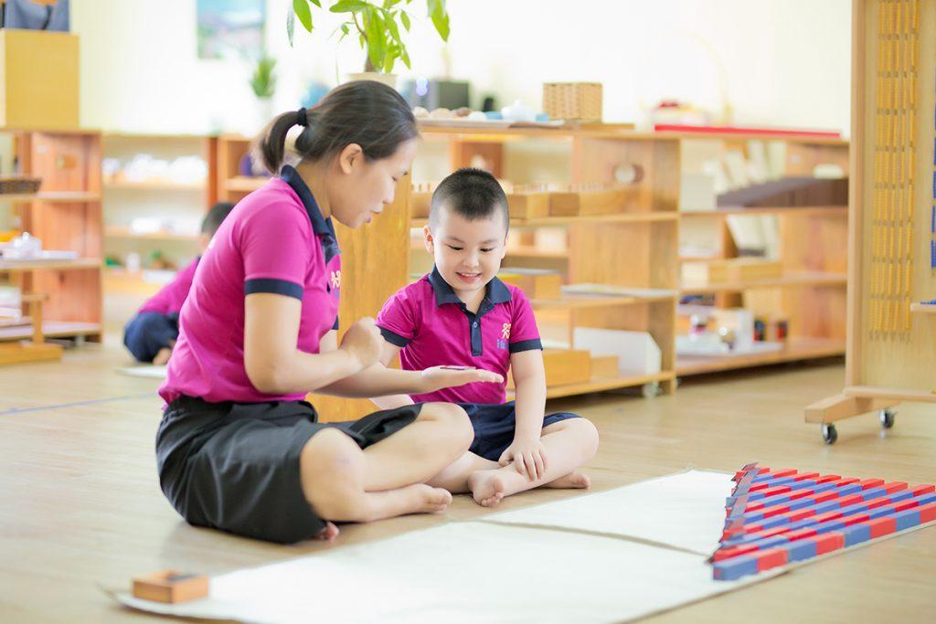 IKIDS Montessori phát triển kỹ năng giao tiếp hiệu quả cho trẻ mầm non