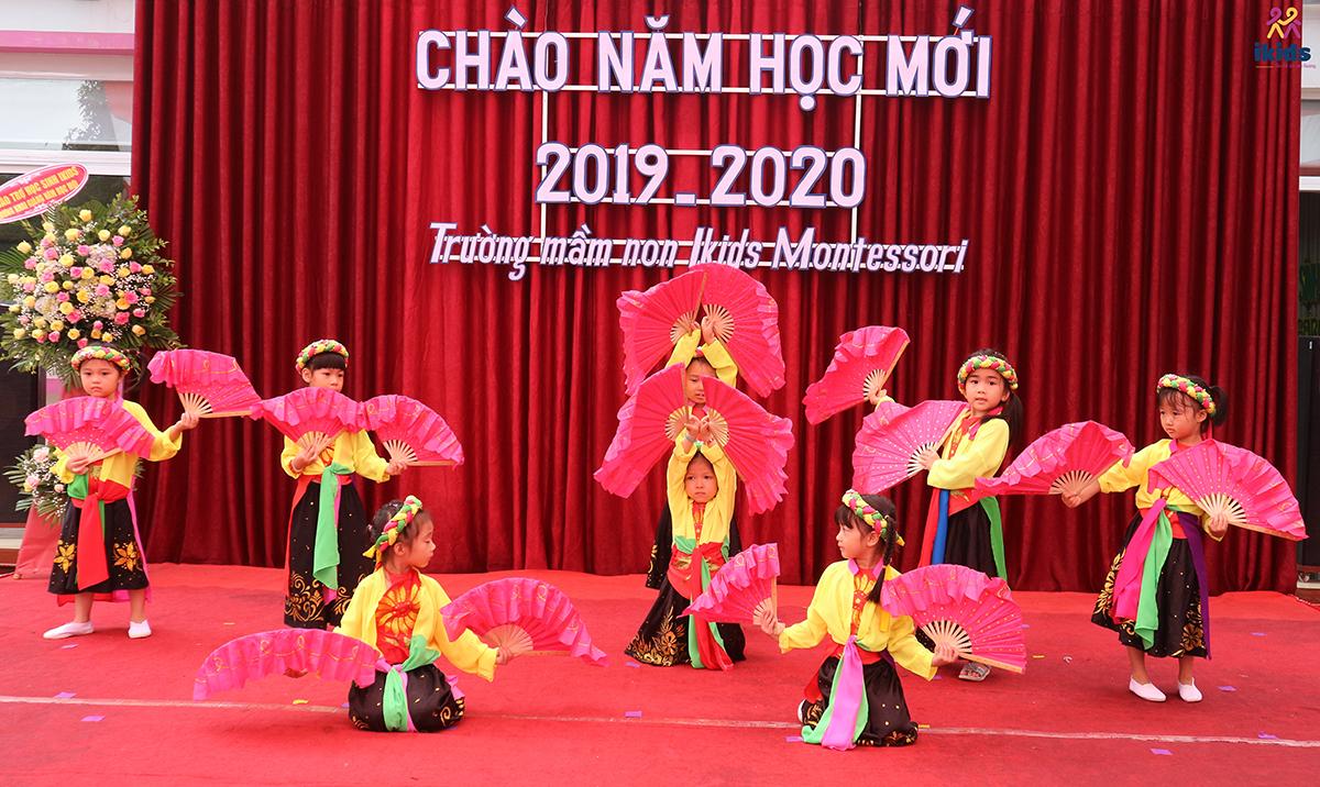 Tưng bừng chào đón lễ khai giảng năm học mới 2019 - 2020 cùng Ikids Montessori